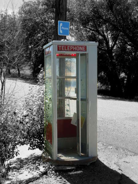 Abandoned Phone Booth