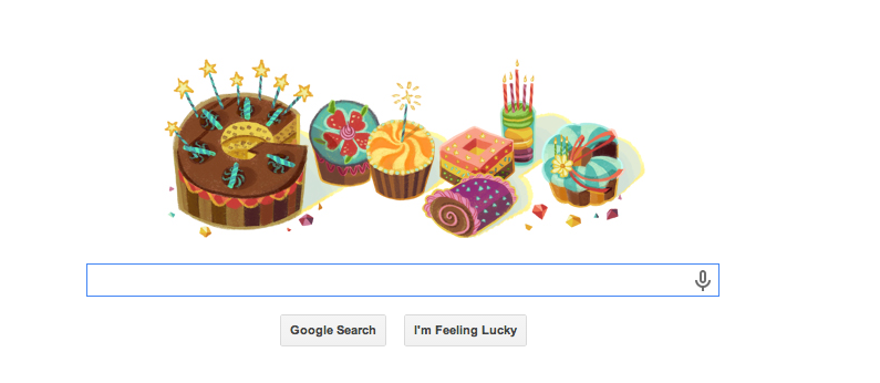 Happy Birthday, Roland From Google