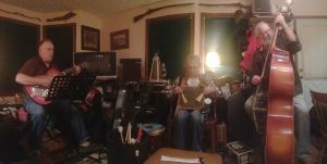The Band Practicing on Tuesday Night