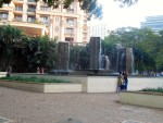 Fountains and a Selfie