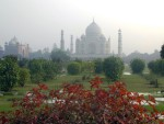 View From Across the Yamuna River