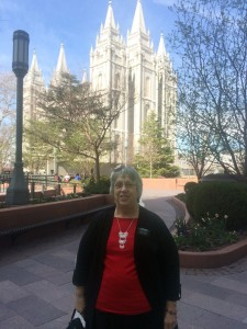 Visit to Temple Square