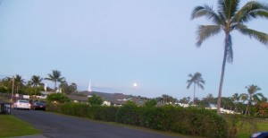 Full Moon Over Laie