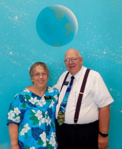 Elder Roland and Sister Nina Smith